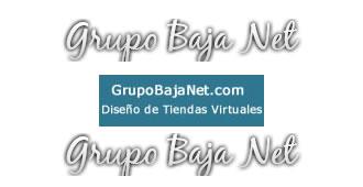 Diseño web Grupo Baja net
